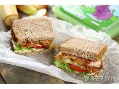 Pierś z kurczaka dopraw przyprawą Knorr i upiecz w piekarniku rozgrzanym do 160 stopni przez ok. ... Sandwiches, Lunch Box, Health, Recipes, Food, Salud, Pineapple, Health Care, Rezepte