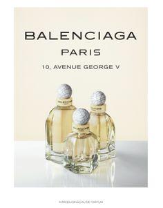 My fav @ Balenciaga Paris   balenciagafragrance.com