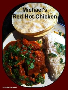 Michael made our Red Hot Chicken and was brave enough to use the 'Dare Bag' Red Hot Chicken, Indian Curry, Curries, Brave, Cravings, Beef, Dishes, Ethnic Recipes, Food
