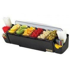 Organizadores de ingredientes de diferentes capacidades y compartimentos. Elige el que mejor se adapte a tus necesidades.