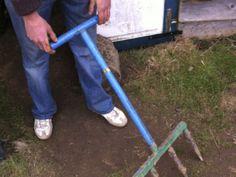 Leek dibbler Garden Tools, Garden Ideas, Appropriate Technology, Market Garden, European Tour, Hand Tools, Gardening, Yard Tools, Lawn And Garden