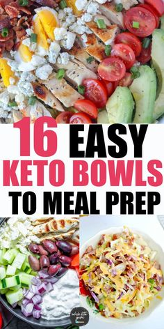 Carb Free Recipes, Healthy Low Carb Recipes, Healthy Meal Prep, Low Carb Keto, Healthy Dinner Recipes, Healthy Eating, Low Carb Meals, Sugar Free Meals, Meal Prep Low Carb