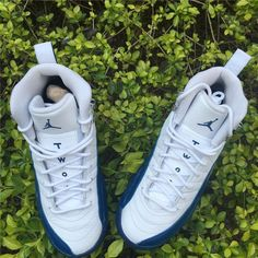 2016 Air Jordan 12 Retro GS 153265-113 French Blue Youth Kids