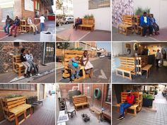 Street Artist r1 Recycles Reclaimed Wood Pallets Into Mobile P...