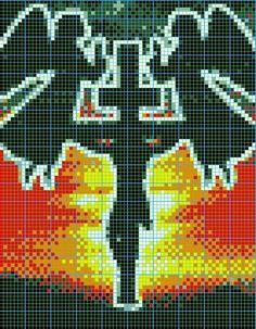 369 Best Hard pixel art images | Cross stitch charts, Cross stitch patterns, Embroidery patterns