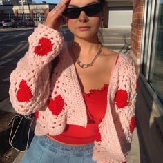 Pretty Outfits, Cool Outfits, Casual Outfits, Crochet Clothes, Diy Clothes, Crochet Outfits, Indie Outfits, Fashion Outfits, Fashion Jobs
