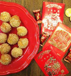 笑口棗 - Sesame Ball Cookies Recipe
