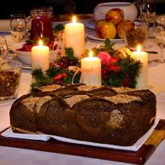 'Twas the Night Before Kalėdos: The Kūčios Table  By Christiana Noyalas    Christmas celebrations in Lithuania are rich in ceremony and trad...