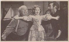 1936 Shirley Temple, Guy Kibee & Slim Summerville in a scene from Captain January