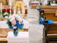 Altarstrauß, Kirchenschmuck, Daniela Reske Fotografie. Dekoration, Blumen und Papeterie: Anmut und Sinn