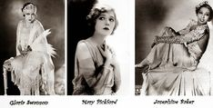 Fatos e fotos da moda de 1920 a 1930 | Blog da Mari Calegari Paul Poiret, Belle Epoque, Mary Pickford, Josephine Baker, Time Travel, Statue, Coco Chanel, 30, Fictional Characters
