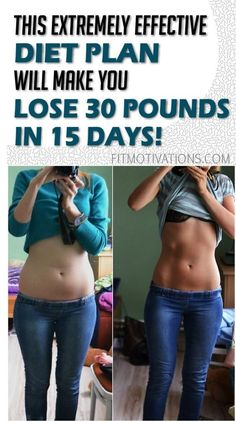 This is one of the most effective diet plans that will surely make you lose 30 pounds in 15 days. Before you decide to take this step in your life, please first consult with your doctor. If he appr…