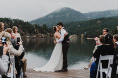 Mountain Wedding, Mountain Wedding Photographer, Mallory + Justin, Colorado wedding, evergreen lakehouse, evergreen Colorado