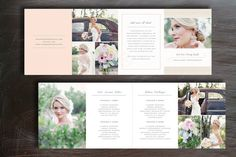 Pricing Guide Photography Template for WHCC - Digital 8-Panel Folding Card $20.00 USD