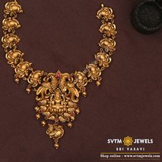 Gold Temple Jewellery, Gold Wedding Jewelry, Gold Jewelry, Bridal Jewelry, Jewelry Sets, Beaded Jewellery, Wedding Ring, Diamond Jewelry, Antique Jewellery Designs