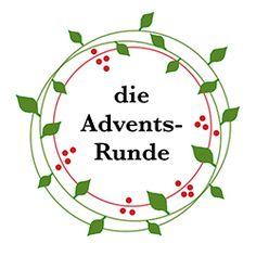 Darf ich vorstellen: die Adventsrunde Decorative Plates, Blog, Home Decor, Winter, Christmas, Craft, Natal, Christmas Advent Calendars, Building Homes