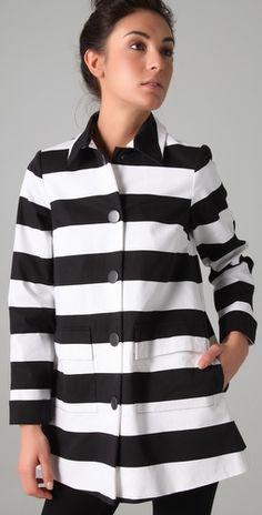Constance Striped Coat