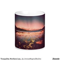 Tranquility. Northern Landscape Classic White Coffee Mug