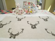 BN Gorgeous Fryetts Cotton Duck Remnant In Stag