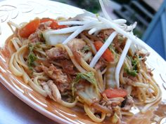 Quick Chicken Recipes For Busy Weeknights - Yakisoba Chicken