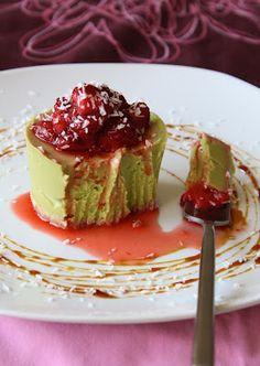 Avocado Vanilla Cheesecake   (Raw Vegan)