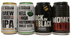 Favorite Craft Beers | http://www.hopandwine.com/domestic-beer/