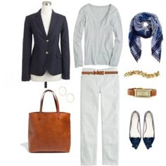 Blue and White for Fall
