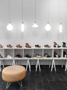 Shoe Store | Haberdash, Stockholm #coverings #atlanta