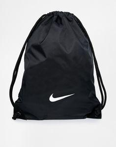 e135a283eb03ff Image 1 of Nike Gymsack in Black Nike Shoulder Bag