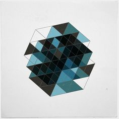 Creative Geometry, Daily, Print, Geometric, and Simple image ideas & inspiration on Designspiration Triangles, Geometric Symbols, Textile Patterns, Art Patterns, Motion Design, Sacred Geometry, Art Pictures, Quilt Blocks, Cool Art