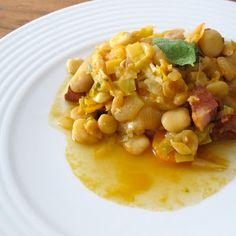 Cozinhar sem Lactose: Guisado de chícharos