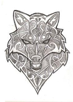 Wolf tattoo stencil - Wolf Free Tattoo Stencil - Free Wolf Tattoo Designs For Men - Free Wolf Tattoo Designs For Woman - Customized Wolf Tattoos - Free Wolf Tattoos - Free Printable Wolf Tattoo Stencils Wolf Paw Tattoos, Tribal Arm Tattoos, Head Tattoos, Body Art Tattoos, Tattoo Wolf, Celtic Wolf Tattoo, Celtic Tattoos, Viking Tattoos, Celtic Tribal