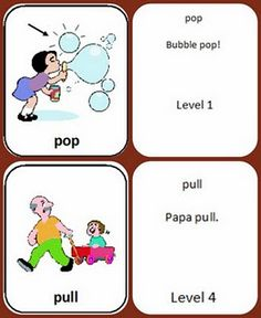 Free Articulation Cards - designed to be simple one syllable and two syllable words; created by SLP mom whose child has CAS