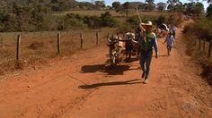 Fiéis fazem caminhada de Goiânia a Trindade durante Festa do Divino