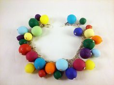 Special Gifts Online features handcrafted jewellery that is beautiful, unique and lots of fun. We hand make each bracelet to a one of a kind design, so each piece is absolutely unique.This is one of our fun and funky fimo shape series bracelets, Loaded fimo ball bracelet. £9.99 buy it @ http://www.specialgiftsonline.co.uk/products/fimo-ball-bracelet