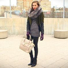 5 Ways to Layer Winter Clothes Like a Pro -doesn't include a parka so i'd say fall/spring but cute ideas!