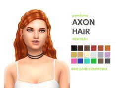 greenllamas: greenllamas - AXON HAIR So this... - ridgeport's cc finds