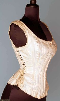 Augusta Auctions November 14, 2012 NEW YORK CITY   SIDE LACING SPORTS' CORSET, 1875-1885