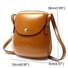 Women PU Leather Mini Crossbody bag Bucket Bag Phone Bag is Worth Buying - NewChic
