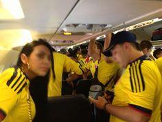 Listo para apoyar a la Selección Colombia en el partido contra Bolivia