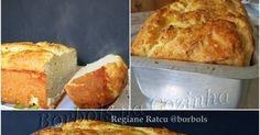 Borbols na Cozinha: Pão de Cebola sem glúten e sem açúcar