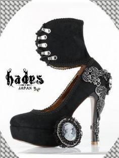 [HADES] [Orders sale] Hey Deeds ★ [Limited] heel pumps, Anaborena
