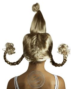 mean girls christmas costumes Cindy Lou Who Hair Cindy Lou Who Hair Cindy Lou Who Hair, Cindy Lou Who Costume, Face Shape Hairstyles, Headband Hairstyles, Girl Hairstyles, Christmas Hair, Grinch Christmas, Christmas Costumes, Whoville Hair