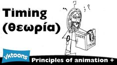The principles of animation plus. 10a) Timing - theory