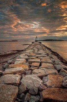 *Spring Point Lighthouse - South Portland, Maine