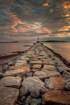 *Spring Point Lighthouse - South Portland, Maine