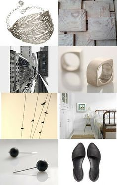 Black N white  by Roy Itzhack on Etsy--Pinned with TreasuryPin.com