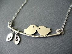 Love Birds. This would be a cute schnan gift, TIMOTHY