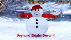 ♫ Haydi Gelin Çocuklar Kardan Adam Yapalım ♫ Karaoke ♫ ♥ DEM 3D ♥
