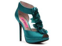 Teal wedding shoe  | followpics.co